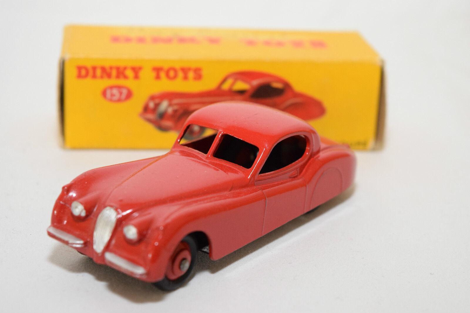 P dinky spielzeug 157 jaguar xk120 xk 120 coupé leuchtend rote mint boxed selten