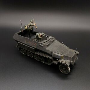 Painted-1-35-Scale-Tamiya-German-Halftrack-With-2-Figures