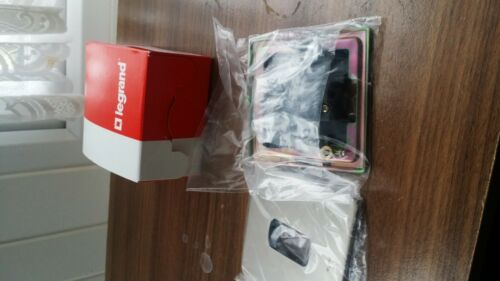 Brand New Legrand 10Amp 250v Door bell push Switch Nickel Finish 7312 07