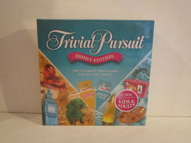 TRIVIAL PURSUIT FAMILY EDITION - BRAND NEW/SEALED