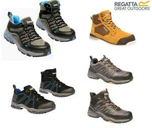 Regatta Mens Work Safety Protective Shoes Steel Toe Cap Boots Workwear