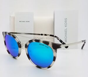 c2e5769653 New Michael Kors sunglasses MK2056 327525 50mm Silver Blue Round MK ...