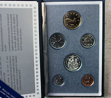 1990 RCM Canada 6 Coin Specimen Set with COA Card and Sleeve