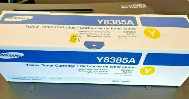 Genuine Samsung CLX-Y8385A Yellow Toner for Multiexpress 8385ND