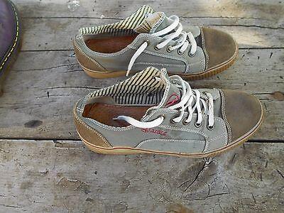Dinamico Rares Chaussures Aigle Toile Etat Moyen T 42 Vintage Collector A 5 € Ach Imm Fp