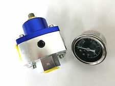 4.5 To 9 PSI Billet Adjustiable Fuel Pressure Regulator W/ Gauge SBC BBC Ford