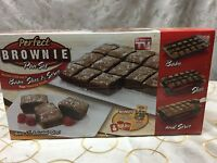 As Seen On Tv perfect Brownie Pan Set (bakes 18) - Brand In Box