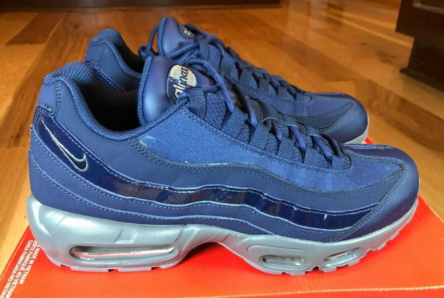 Size 9.5 - Nike Air Max 95 Obsidian 2018 for sale online   eBay