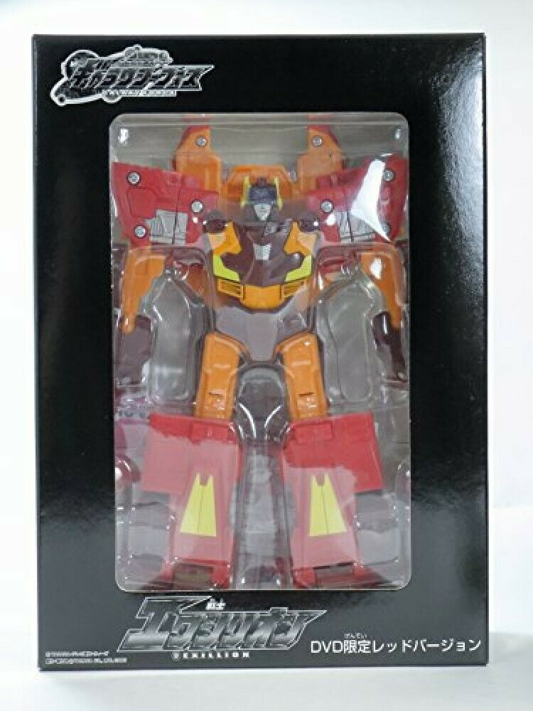 Takara TRANSFORMERS Galaxy Force rosso EXILLION caliente Rod JP Exclusive LE500