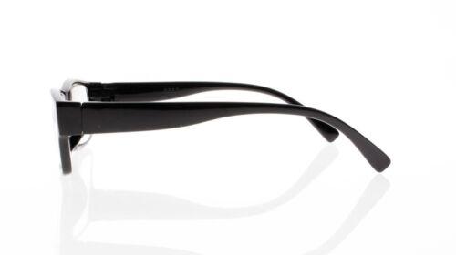 4.50 6.00 5.50 5.00 Classic Computer Black Square Frame Reading Glasses