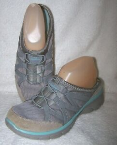 Skechers-Women-039-s-Relaxed-Fit-Gray-Comfort-Mule-Size-8-5-38-5