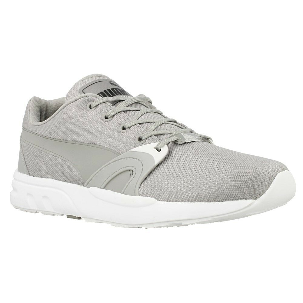 Puma XT S Runner Fashion Trainers 35913502 - Woven Upper Unisex Sneakers Grey