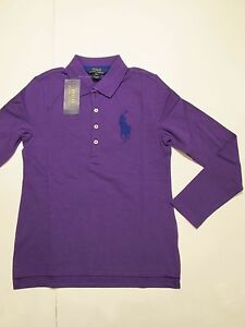 Image is loading New-with-tag-NWT-Girls-Ralph-Lauren-Purple-
