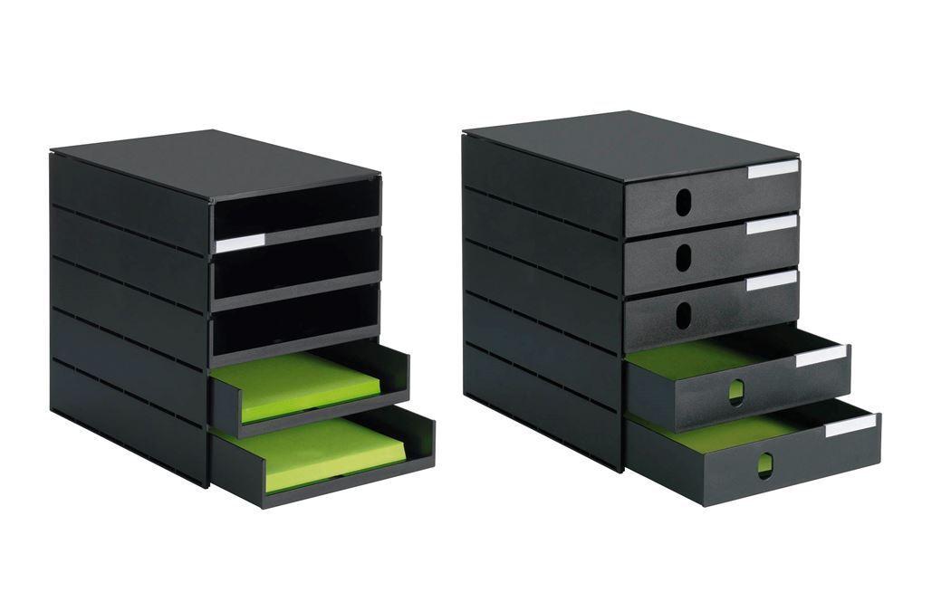 Schubladenbox styro Pro 5 Schubladen offene   geschlossen wählbar BLITZVERSAND | Zart  | Gute Qualität  | Neuartiges Design