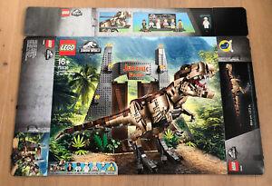 LEGO 75936 Jurassic World T. Rex Verwüstung Leerkarton/Box/Ovp NEU