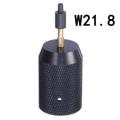Wieder auffüllbar Ladegerät Adapter Ventil Werkzeug Schwarz Versorgung