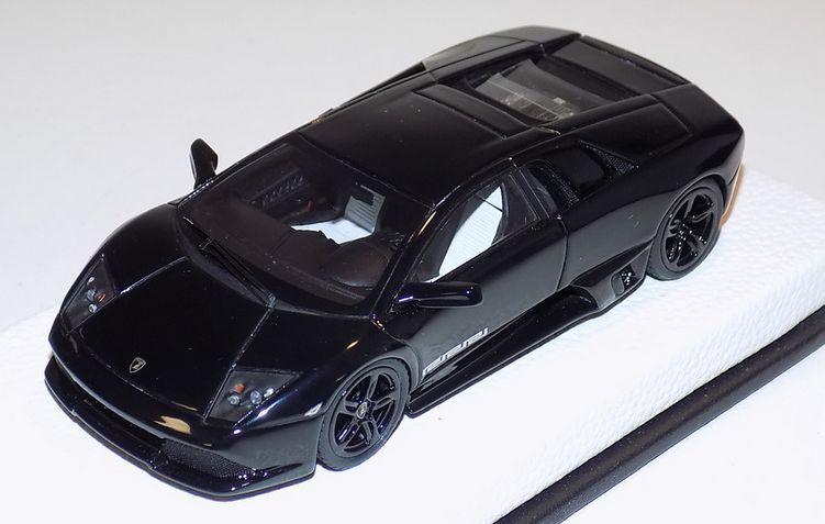 el señor Lamborghini Murcielago LP640 edición especial de cuero negro de Versace