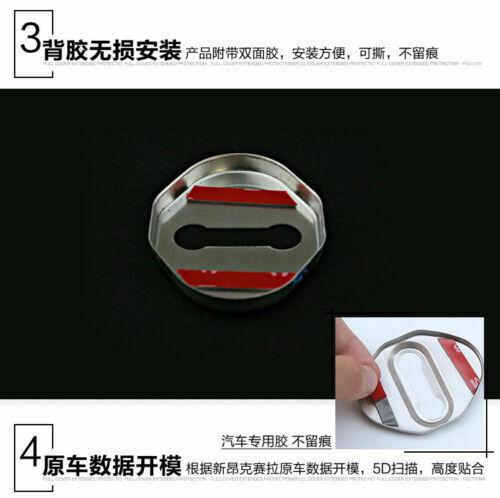 For Car Accessories Mazda 6 3 CX 5 CX 3 Scuff Plate Door Lock Cover Protectors