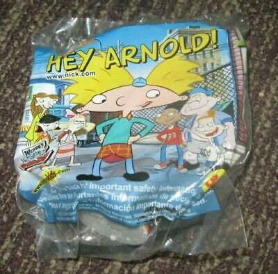 GERALD 2003 NICKELODEON WENDY/'S KIDS MEAL TOY HEY ARNOLD