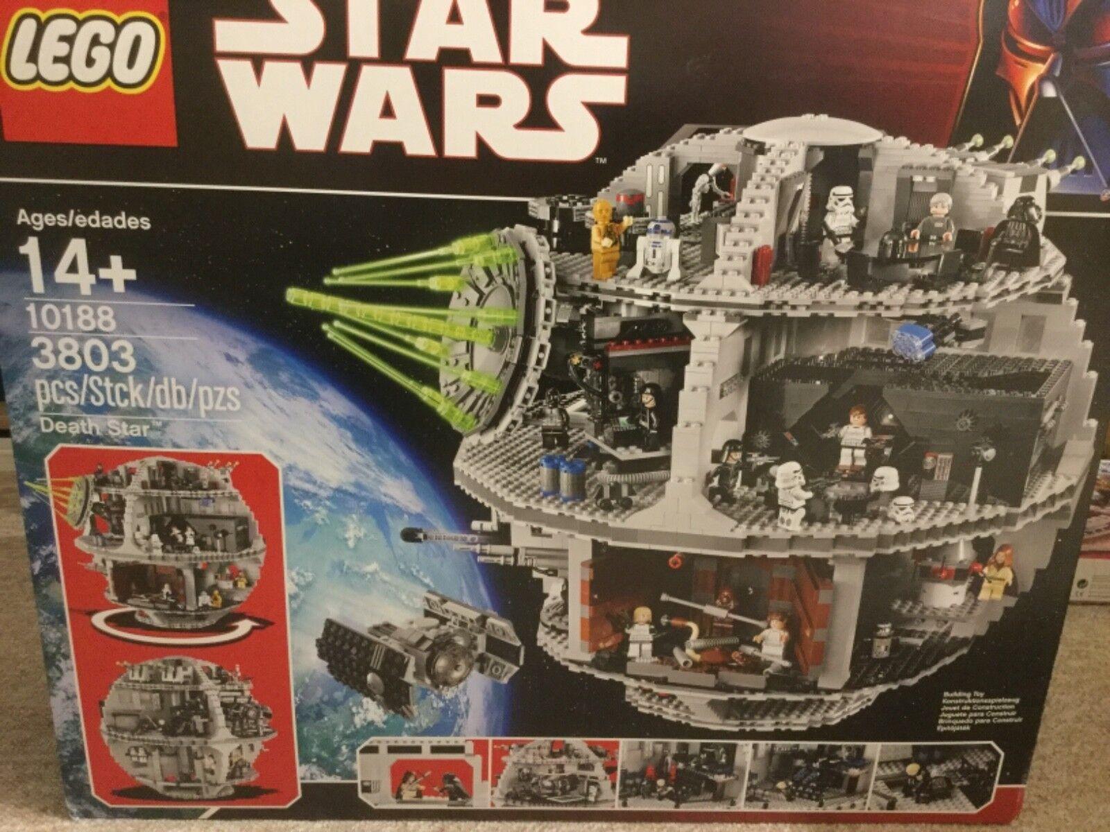 Lego 10188-Star Wars étoile noire NOUVEAU Neuf dans sa boîte