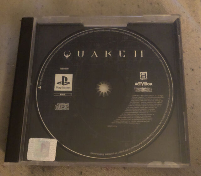 Quake II 2 (Sony PlayStation 1 1997) Disc nur PAL UK ps1 No Insert Booklet