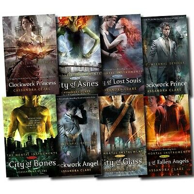 Cassandra Clare Mortal Instruments & Infernal Devices Collection 8 Books Set NEW