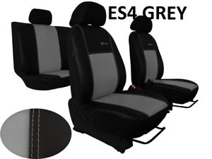 SEAT IBIZA Mk5 2017 ONWARDS ARTIFICIAL LEATHER TAILORED FRONT SEAT COVERS