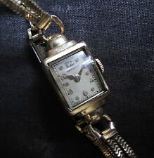 Hamilton Ladies 17J USA Watch, 1940's As-Is.