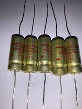 Blac MarkQty FRAKO 25 Volt 4700uF   Electrolytic Cap's  Axial  GPF VD 4