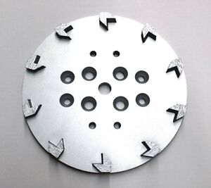 "2PK 10"" Pro Grinding Head Disc Plate for Edco Floor Grinder-20 Segments PREMIUM"