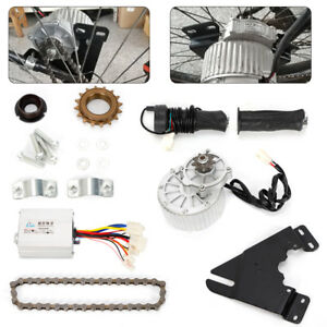 Electric-Bike-Conversion-Kit-24V-36V-Left-Chain-Drive-Motor-Ebike-E-Bicycle-TOP