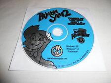 Pajama Sam 2 Thunder & Lightning Aren't so Frightening - PC CD Computer game