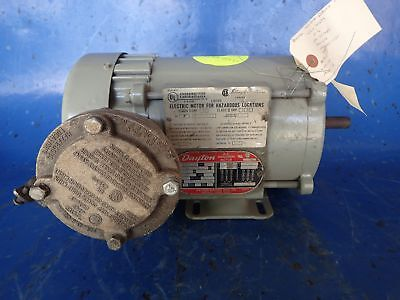 Business & Industrial Candid Used 3-phase Ac Induction Motor 3/4 Hp Dayton 3n369h Easy And Simple To Handle Other Heavy Equipment