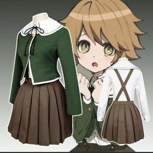 Danganronpa Dangan-Ronpa Chihiro Fujisaki Cosplay Costume
