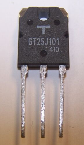 10 pieces 600V N-Channel IGBT NEW TO-3P 5P5-7-01 Toshiba GT25J101 25A