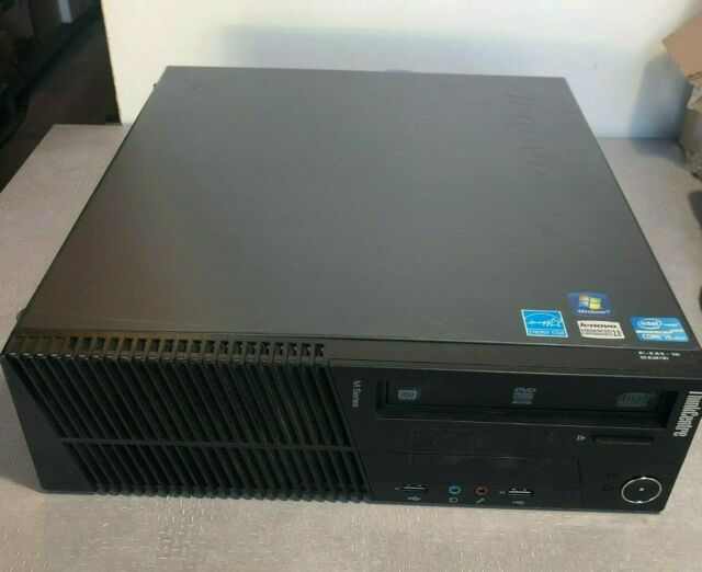 Lenovo ThinkCentre M91p SFF Computer Intel I5 2400 3.1Ghz 4GB No Hard drive