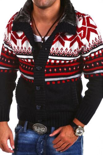 cardigan in Carisma bianco nero norvegese maglia New grigio Maglione Wow 6qdEE