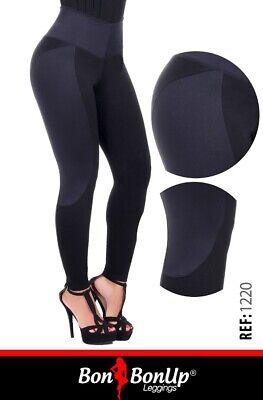 Bon Bon Up Women/'s Leggings with Internal Body Shaper ButtLifter Levantacola1156