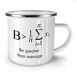 Be Greater NEW Enamel Tea Mug 10 oz | Wellcoda