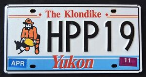 CANADA-034-YUKON-KLONDIKE-GOLD-PANNER-HPP19-034-CAN-Graphic-License-Plate