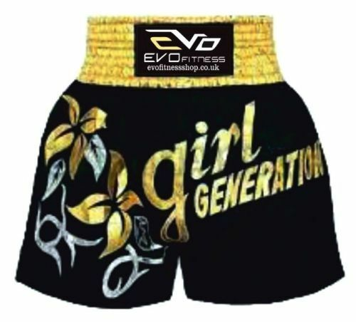 Evo Femmes Muay Thaï Short Filles Mma Kick Boxing Martiaux Art Combat Gear H