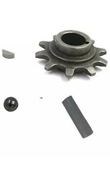 80CC Gas Motorized Bicycle CMRPOWER Small Chain Sprocket Set For 415 Chain