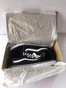 59ebb3d7792f Image is loading Vans-Mens-Ward-Low-Top-Sneakers-Black-White-