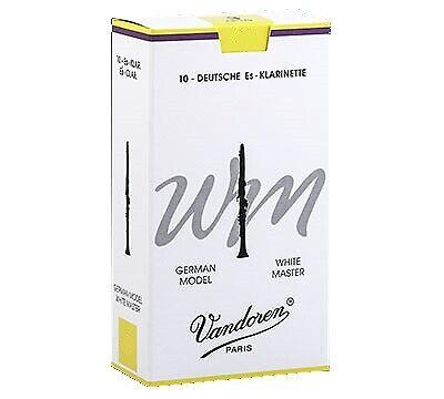 VANDOREN White Master Stärke 2,5 deutscher Schnitt Blatt für B-Klarinette