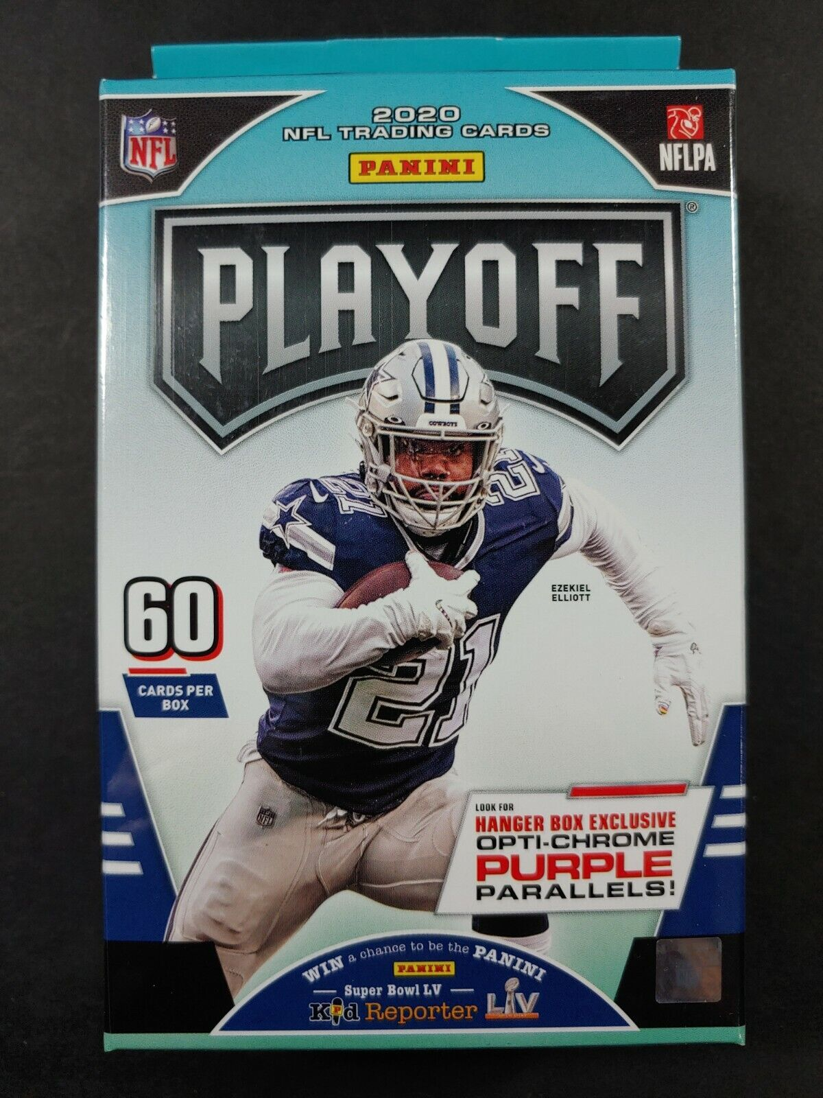 Factory-Sealed 2020 Playoff Football 40-Card Value Hanger Pack