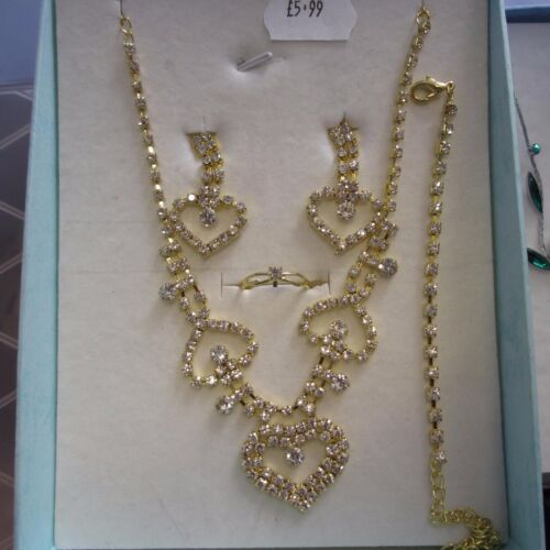 Necklace /& Earrings Sets Free Gift Boxes Wholesale /& Job Lots 10