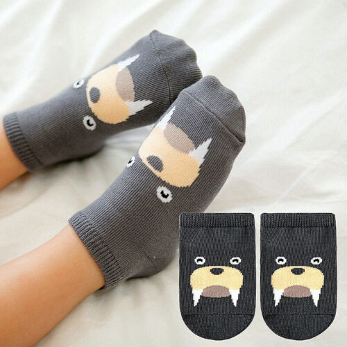 1Paar Neugeborenes Baby  Kinder Socken Jungen Mädchen Baumwolle Socken DE