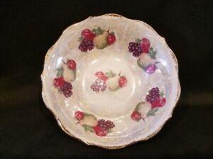 Vintage-Lusterware-Fruit-Bowl-with-Gold-Trim