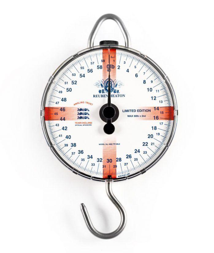Reuben Heaton NEW Limited Edition Standard England Fishing Scales 60lb 120lb