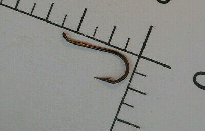 100 MUSTAD #13 CLASSIC Fly Tying HOOKS SUPERIOR Sproat DOWN BALLEye BRONZED 3399